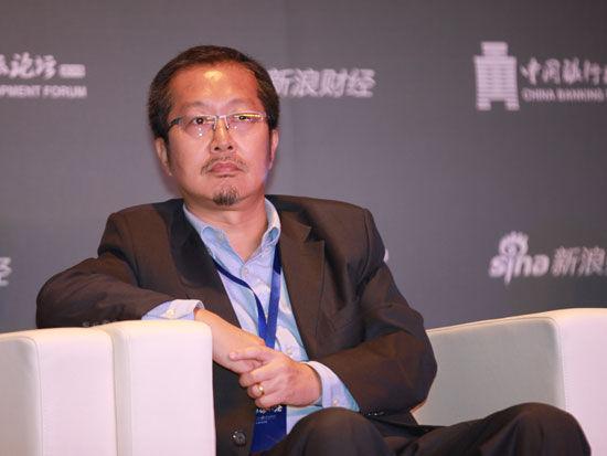 """""""2015银行业发展论坛""""于7月9日在北京举行。上图为中智诚征信有限公司CEO李萱"""