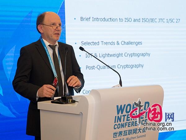 国际信息安全标准化分技术委员会主席Walter Fumy主席