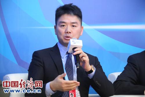 刘强东:建设冷链网络 促两岸经贸发展