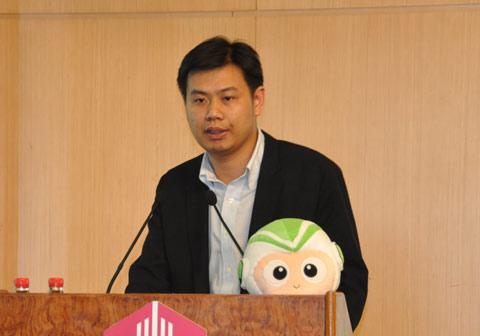 布比创始人兼CEO、中国科学院博士蒋海(摄影:方杰)