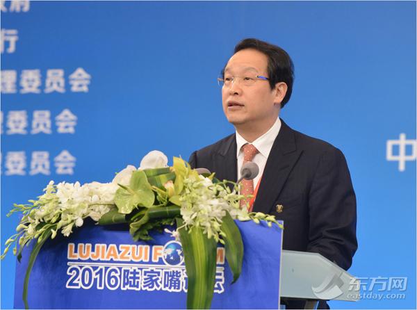中国保监会主席、论坛共同轮值主席项俊波