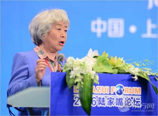 原央行副行长、清华大学五道口金融学院院长吴晓灵
