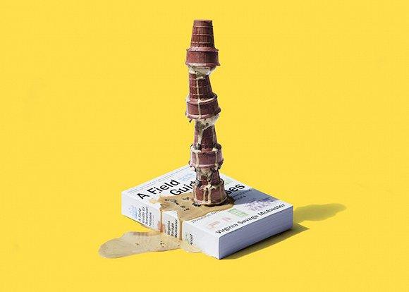 《美国家庭野外工作指南》+ 建筑造型冰淇淋
