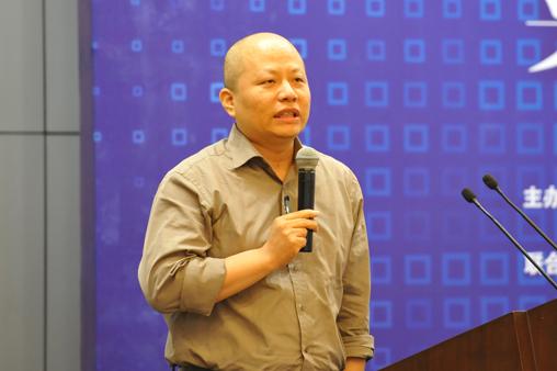 光大银行电子银行部总经理杨兵兵(图片来源:中国电子银行网/半刻金融app)