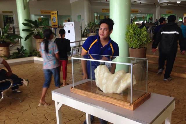 菲渔民发现世界上最大珍珠:值1亿美元