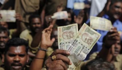 """""""废钞令""""后经济阵痛未解 印度银行纷纷降息刺激"""