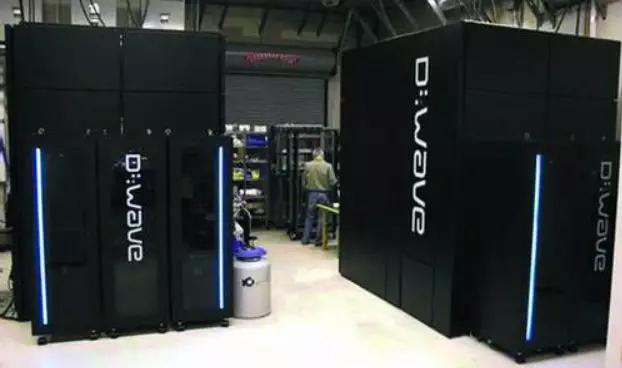 最早的量子计算机 DWave 的整套
